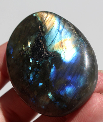 Strong Blue Gold Labradorite